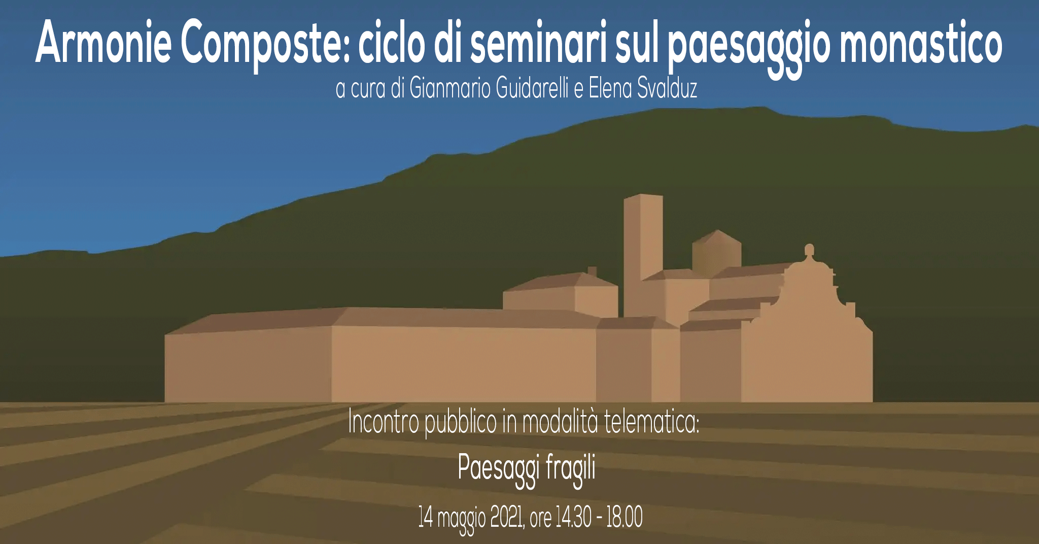 Paesaggi Fragili, incontro pubblico online, 14 marzo ore 14.30